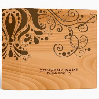 Blond Wood Texture Grain Brown Lace 2 Binder