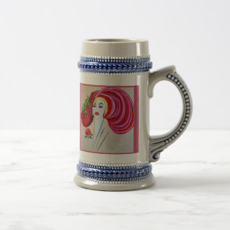 BLONDE AND BEAUTIFUL BEER STEIN