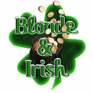 Blonde And Irish Photo Cut Out