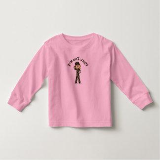 Blonde Army Woman Tshirts