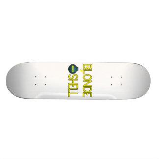 Blonde Bombshell Hottie Skate Deck