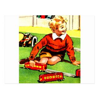 Blonde Boy Postcard