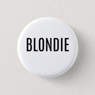 Blonde Button