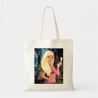 Blonde City Girl Tote Bag