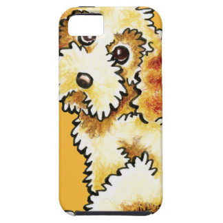 Blonde Cocker Spaniel Poodle Mix iPhone 5 Cases