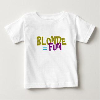 Blonde Equals Fun T-Shirt
