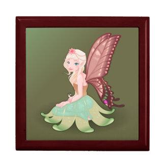 Blonde Fairy Keepsake Box
