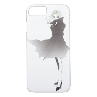 Blonde girl iPhone / iPad case