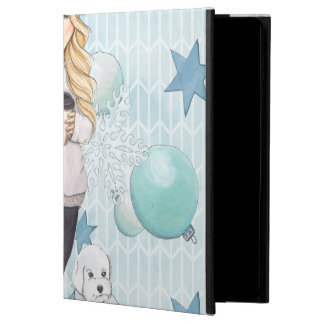 Blonde Girl with White Puppy Powis iPad Air 2 Case