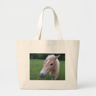 BLONDE HORSE LARGE TOTE BAG