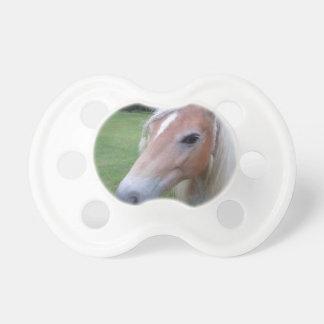 BLONDE HORSE PACIFIER