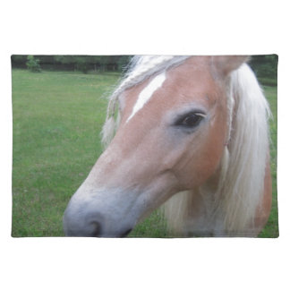 BLONDE HORSE PLACEMAT