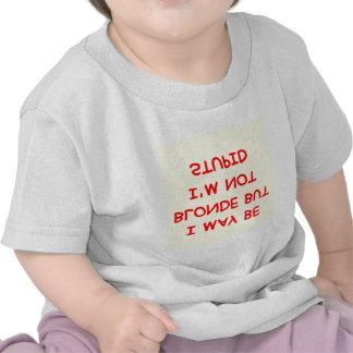 BLONDE joke Shirt