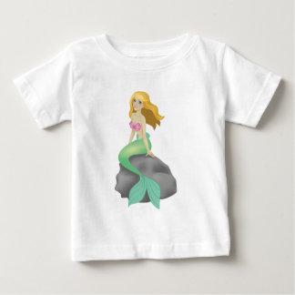 Blonde Mermaid Baby T-Shirt