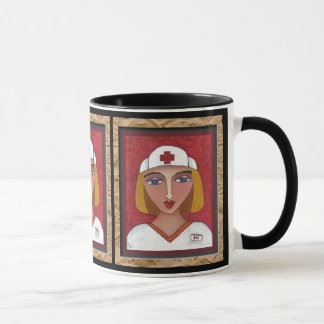 Blonde RN - nursing mug of healing (2)