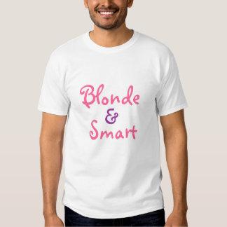 BLONDE & SMART TEE SHIRTS