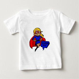blonde super mom baby T-Shirt