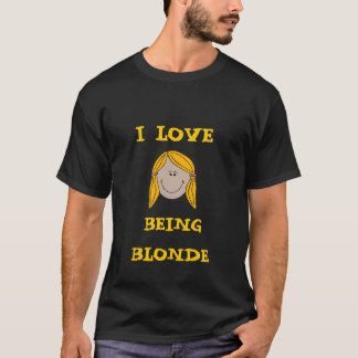Blonde T-Shirt - Customized