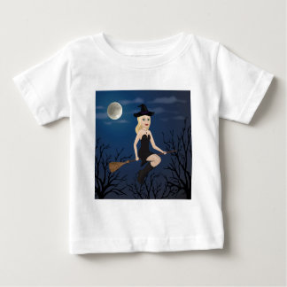 Blonde Witch Baby T-Shirt