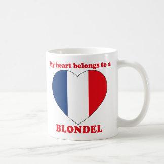 Blondel Classic White Coffee Mug
