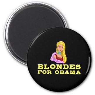 Blondes for Obama Magnet