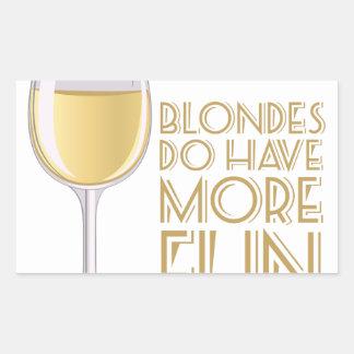 Blondes More Fun