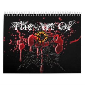 blood, 001 (4), The Art Of Wall Calendars