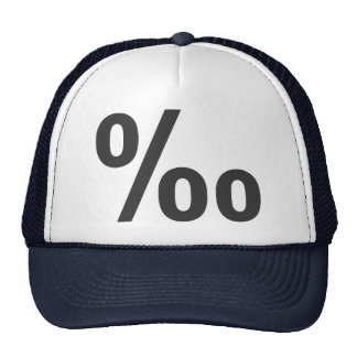 Blood alcohol level trucker hats