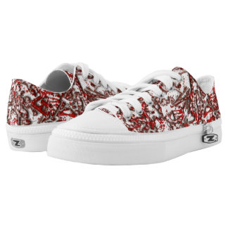 Blood and Guitars Lace=Ups Low-Top Sneakers