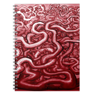Blood and Guts Spiral Notebook