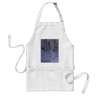 blood and ice tshirt desgin1 standard apron