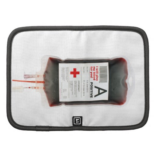 Blood bag planners