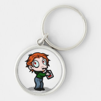 Blood Bag Vampire Keychain