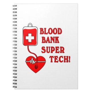 BLOOD BANK SUPER TECH NOTE BOOK