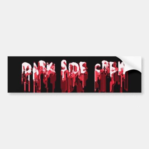 blood bath logo bumper stickers