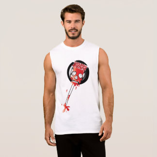 Blood Candy Skull Lollipop Tank Top for Men