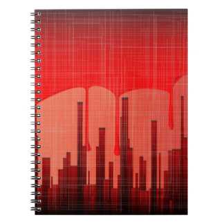Blood City Grunge Notebook
