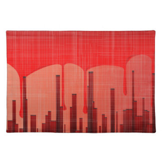 Blood City Grunge Placemat