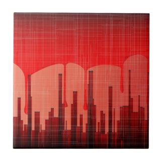 Blood City Grunge Tile