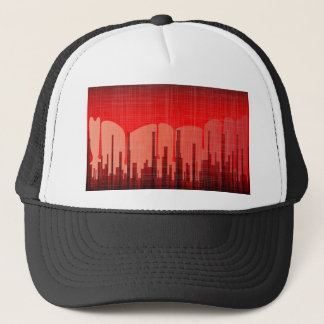 Blood City Grunge Trucker Hat