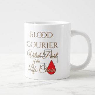 Blood Courier Life Chain Large Coffee Mug