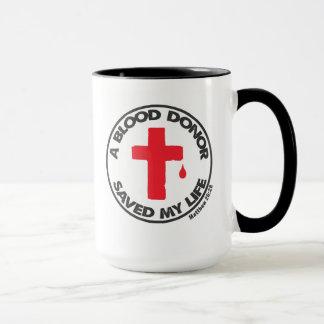 Blood Donor Biblical Inspiration Coffee Mug