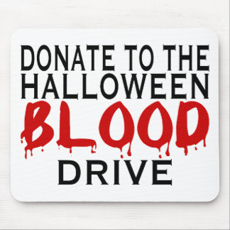 Blood Drive Mouse Pad