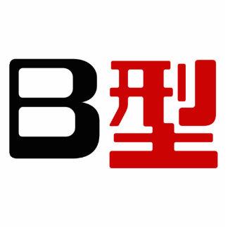 Blood Group B Japanese Kanji Photo Cutouts