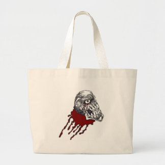 Blood Horror Skull Canvas Bags