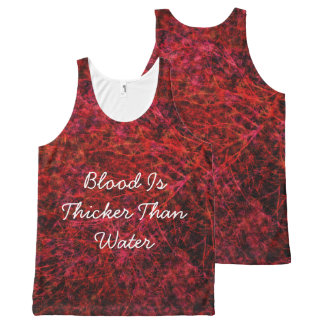 Blood Is Thicker Than Water All-Over-Print Tank Top