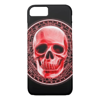 Blood Magick Ritual Skull Symbol iPhone 7 Case