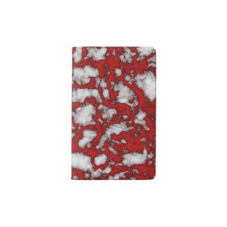 Blood Marble Pocket Moleskine Notebook