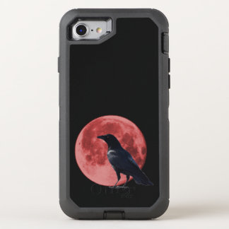 Blood Moon Crow iPhone Defender OtterBox Defender iPhone 7 Case