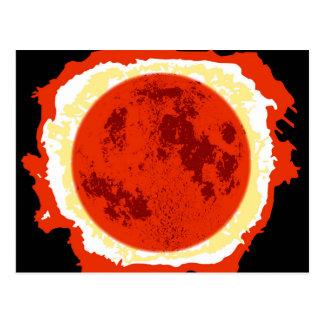 Blood Moon Eclipse Postcard